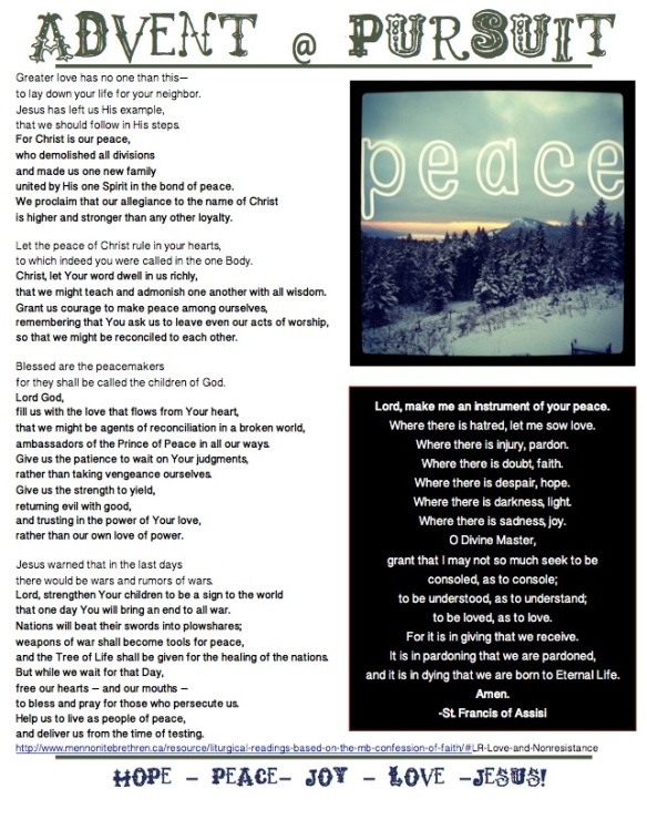 PEACE (Advent)